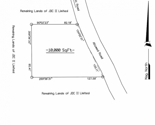 Area plan - the new Jewish Center of Grenada