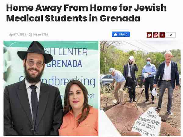 For Jewish Medical Students in Grenada, a New Home Away From Home